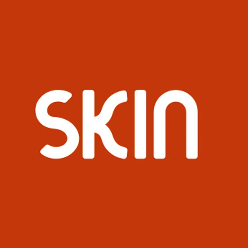 SKIN logo